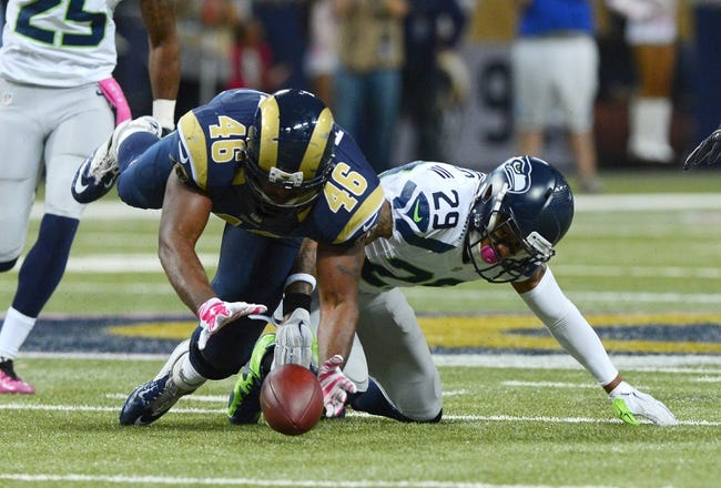 Seahawks vs. Rams - 12/28/14 NFL Pick, Odds, and Prediction