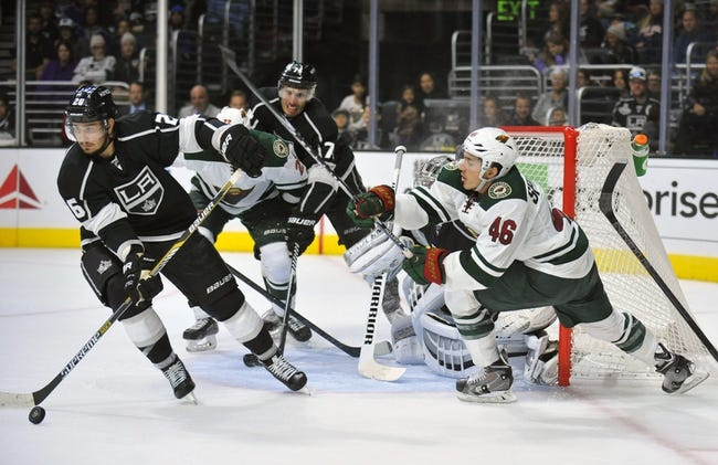 Wild vs. Kings - 11/26/14 NHL Pick, Odds, and Prediction