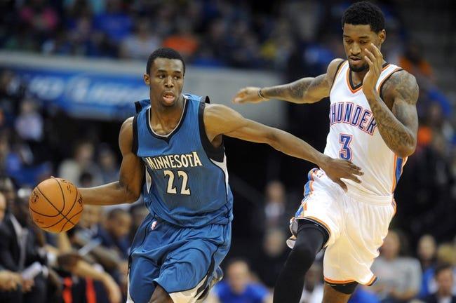 Minnesota Timberwolves vs. Oklahoma City Thunder - 12/12/14 NBA Pick, Odds, and Prediction