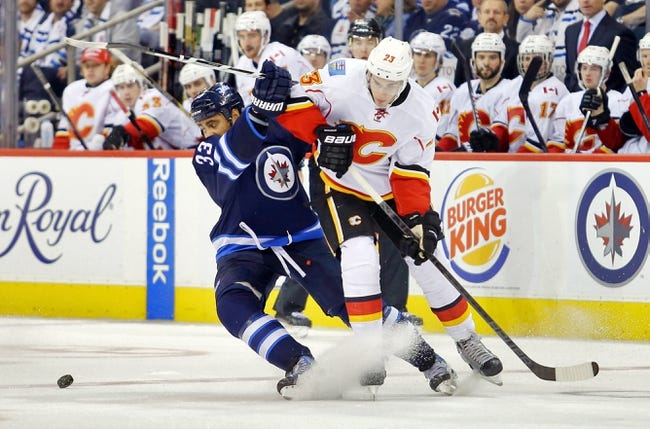 Calgary Flames vs. Winnipeg Jets - 2/2/15 NHL Pick, Odds, and Prediction