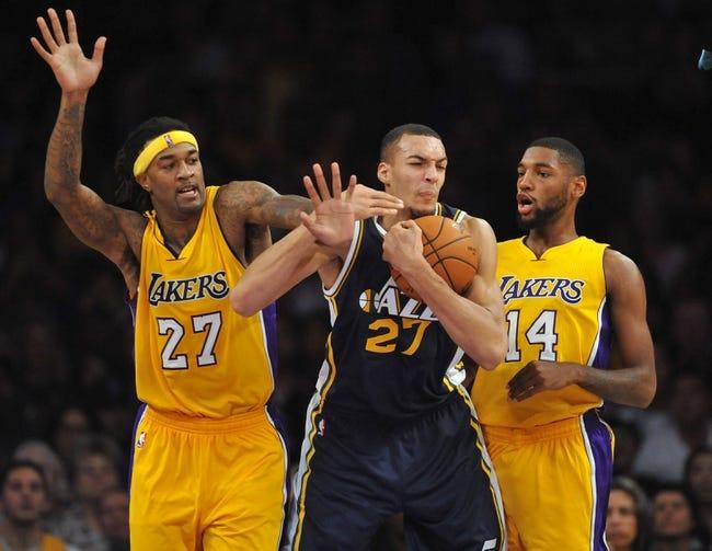 Utah Jazz vs. Los Angeles Lakers - 1/16/15 NBA Pick, Odds, and Prediction