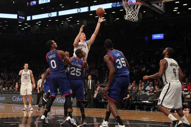 Philadelphia 76ers vs. Brooklyn Nets - 11/26/14 NBA Pick, Odds, and Prediction
