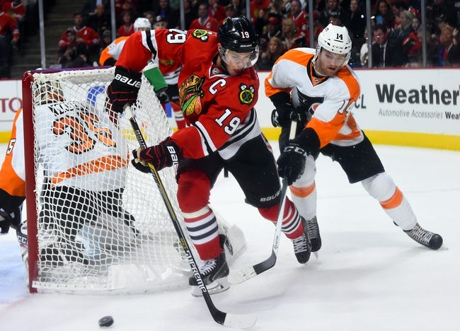 Philadelphia Flyers vs. Chicago Blackhawks - 3/25/15 NHL Pick, Odds, and Prediction