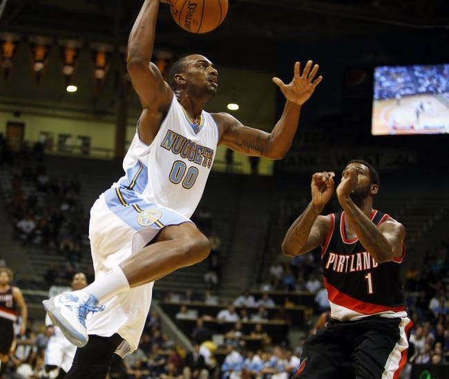 Trail Blazers vs. Nuggets - 11/9/14 NBA Pick, Odds, and Prediction
