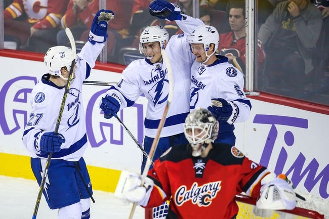 NHL | Calgary Flames (8-4-2) at Tampa Bay Lightning (8-3-1)