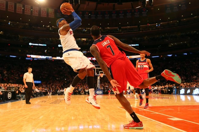 New York Knicks vs. Washington Wizards - 11/4/14 NBA Pick, Odds, and Prediction