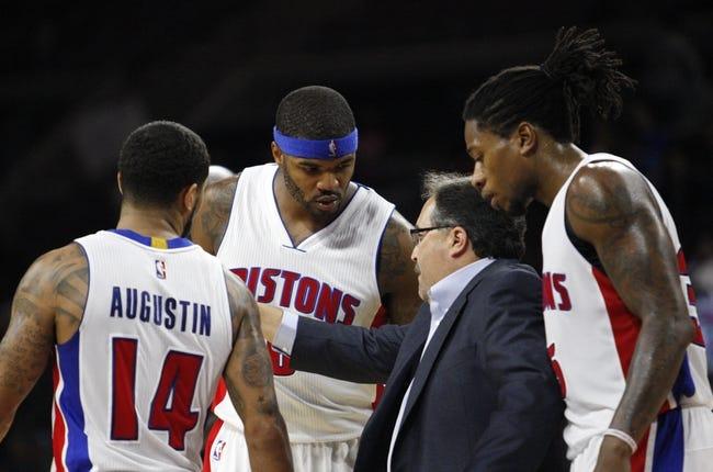 Detroit Pistons vs. Philadelphia 76ers - 12/6/14 NBA Pick, Odds, and Prediction