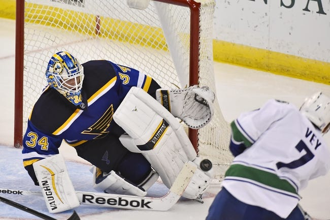 NHL | St. Louis Blues (39-18-4) at Vancouver Canucks (35-23-3)