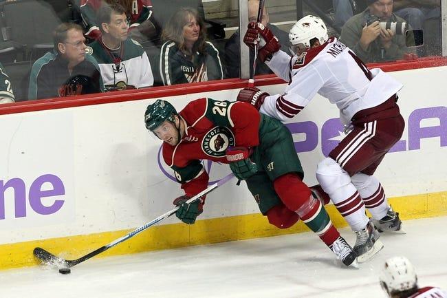 NHL | Minnesota Wild (15-11-1) at Arizona Coyotes (10-16-3)
