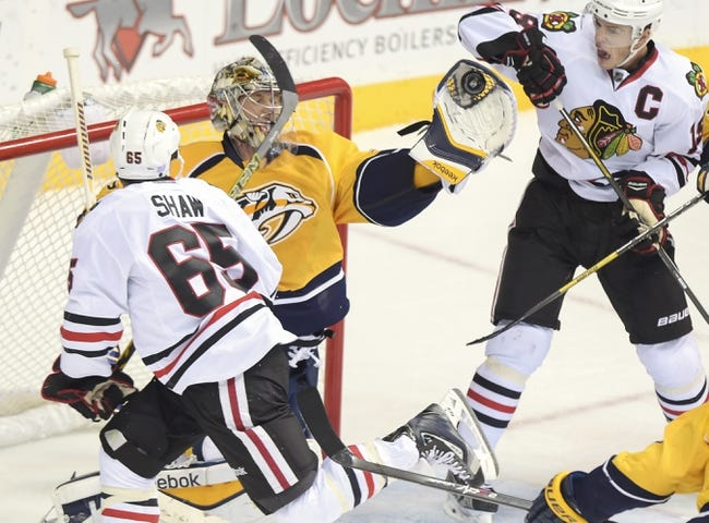 Nashville Predators vs. Chicago Blackhawks - 12/6/14 NHL Pick, Odds, and Prediction
