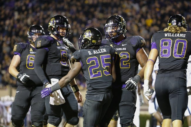 Temple Owls vs. East Carolina Pirates - 11/1/14 College Football Pick, Odds, and Prediction