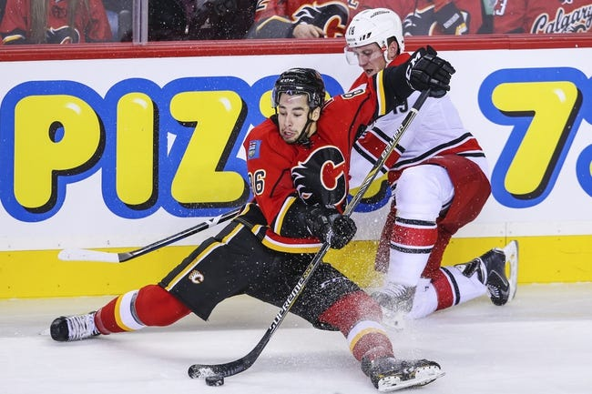 Carolina Hurricanes vs. Calgary Flames - 11/10/14 NHL Pick, Odds, and Prediction