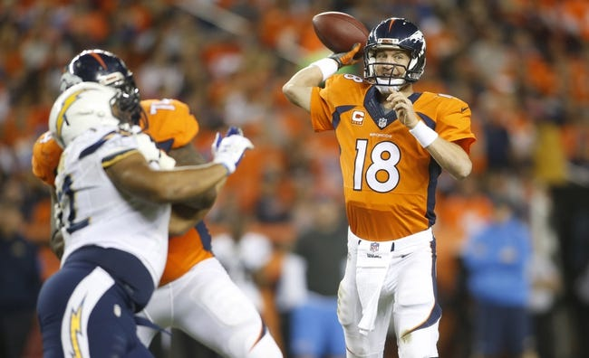 San Diego Chargers at Denver Broncos 10/23/14 NFL Score, Recap, News and Notes