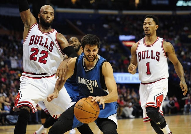 Minnesota Timberwolves vs. Chicago Bulls - 11/1/14 NBA Pick, Odds, and Prediction