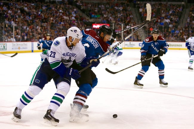 NHL | Vancouver Canucks (8-4-0) at Colorado Avalanche (3-5-5)