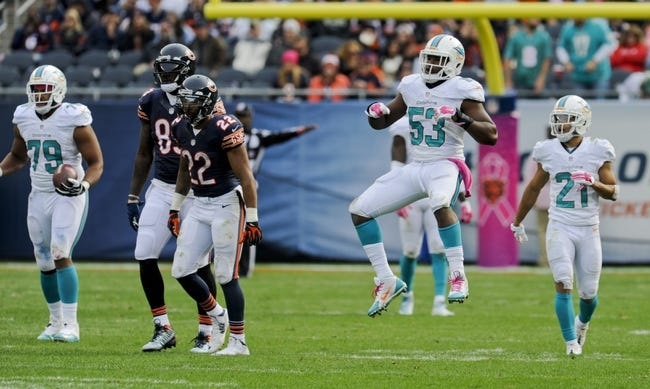 NFL | Miami Dolphins (8-8) at Chicago Bears (5-11)