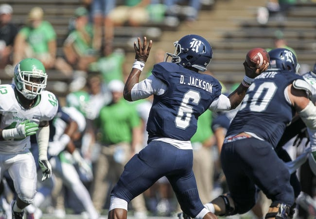 North Texas Mean Green vs. Rice Owls - 9/19/15 College Football Pick, Odds, and Prediction