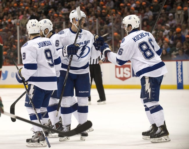 Lightning vs. Coyotes - 10/28/14 NHL Pick, Odds, and Prediction