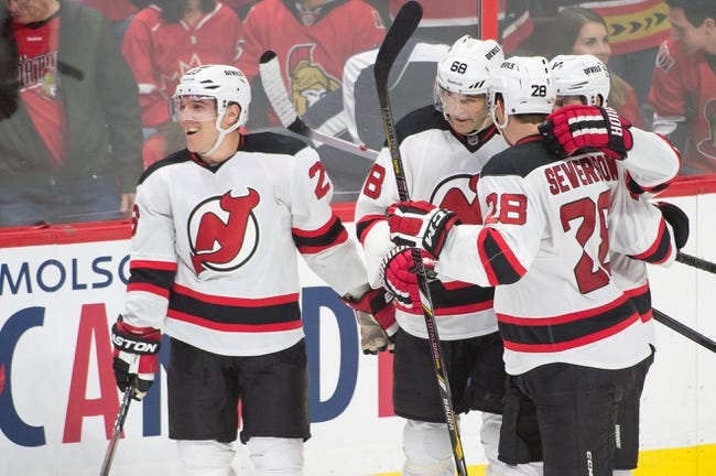 New Jersey Devils vs. Ottawa Senators - 12/17/14 NHL Pick, Odds, and Prediction