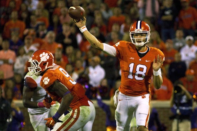 Wake Forest Demon Deacons vs. Clemson Tigers - 11/6/14 College Football Pick, Odds, and Prediction