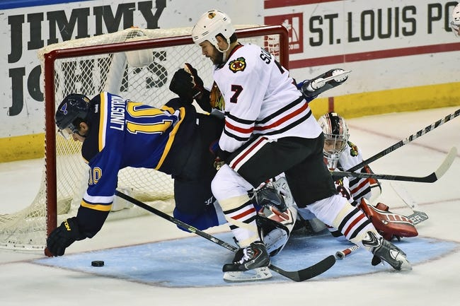 Chicago Blackhawks vs. St. Louis Blues - 12/3/14 NHL Pick, Odds, and Prediction