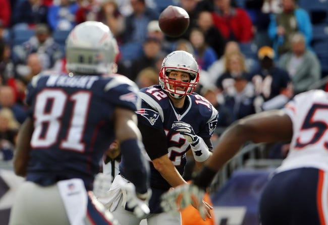 New England Patriots vs. Denver Broncos - 11/2/14 NFL Pick, Odds, and Prediction