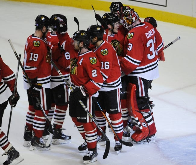 Ottawa Senators vs. Chicago Blackhawks - 10/30/14 NHL Pick, Odds, and Prediction