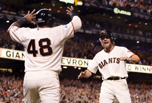 Kansas City Royals vs. San Francisco Giants - 10/28/14 MLB Pick, Odds, and Prediction World Series Game Six