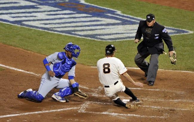 San Francisco Giants at Kansas City Royals - 10/28/14 MLB Pick, Odds, and Prediction