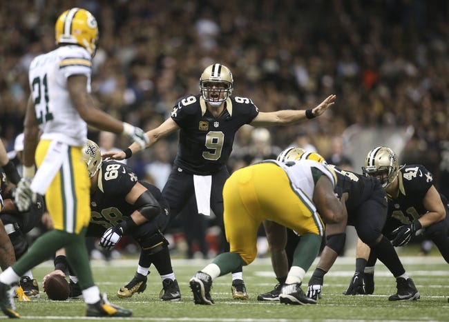 Green Bay Packers at New Orleans Saints 10/26/14 NFL Score, Recap, News and Notes