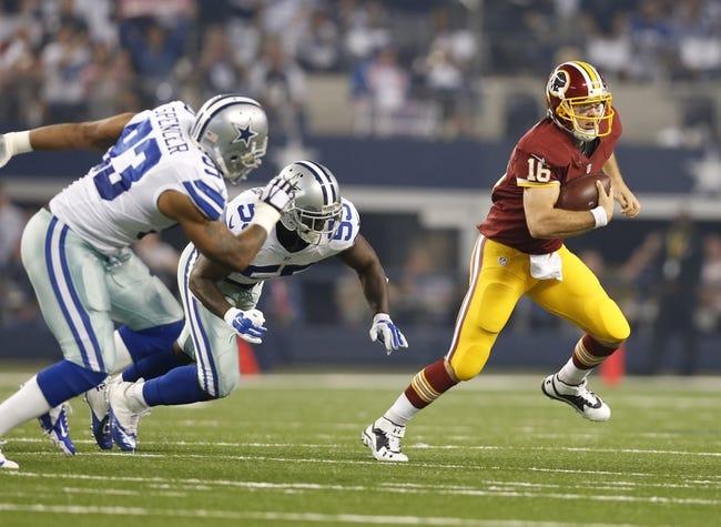 Washington Redskins at Dallas Cowboys 10/27/14 NFL Score, Recap, News and Notes