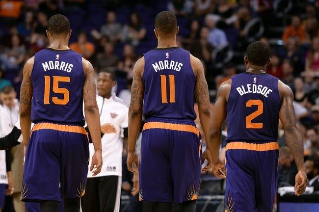 Phoenix Suns vs. San Antonio Spurs - 10/31/14 NBA Pick, Odds, and Prediction