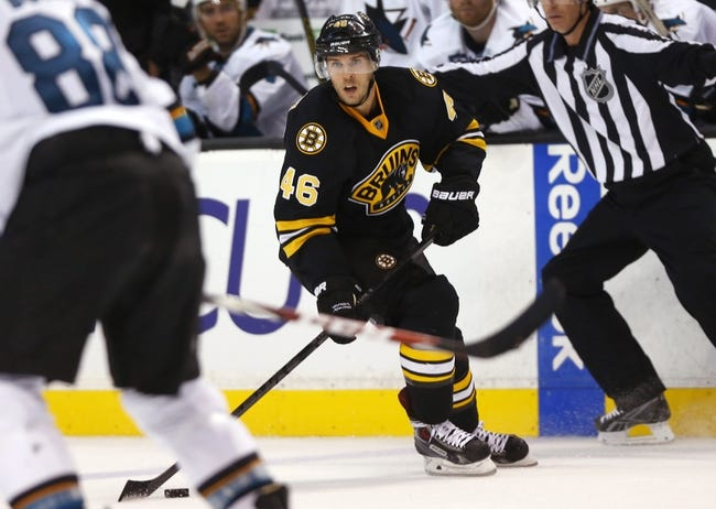 San Jose Sharks vs. Boston Bruins - 12/4/14 NHL Pick, Odds, and Prediction