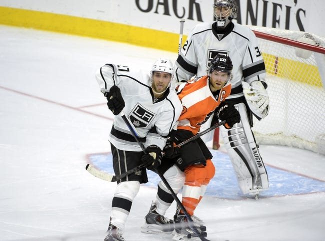 Kings vs. Flyers - 12/6/14 NHL Pick, Odds, and Prediction