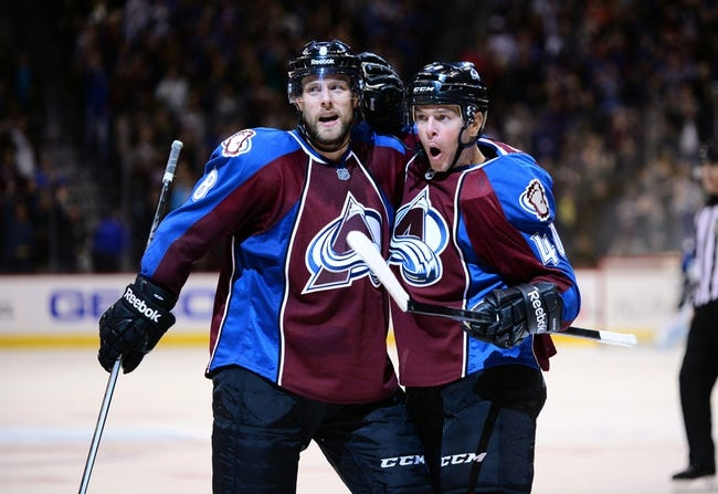San Jose Sharks vs. Colorado Avalanche - 4/1/15 NHL Pick, Odds, and Prediction