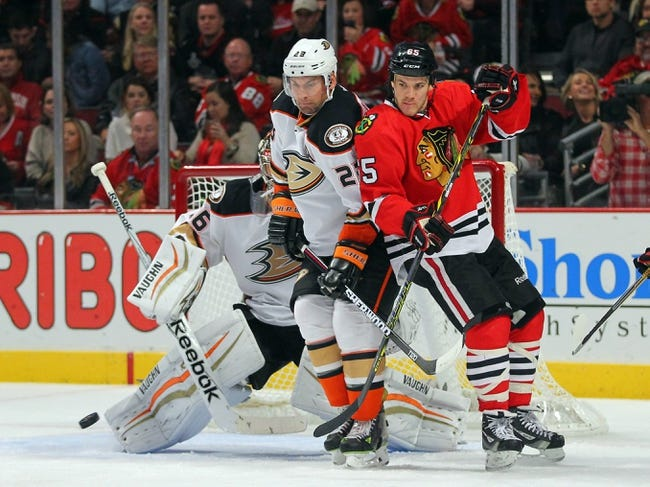 Ducks vs. Blackhawks - 11/28/14 NHL Pick, Odds, and Prediction