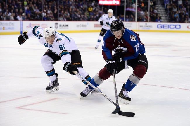 Colorado Avalanche vs. San Jose Sharks - 11/1/15 NHL Pick, Odds, and Prediction