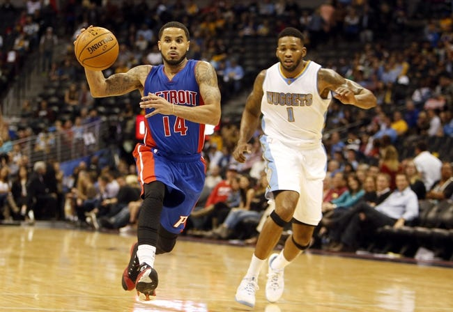 Pistons vs. Nuggets - 2/6/15 NBA Pick, Odds, and Prediction