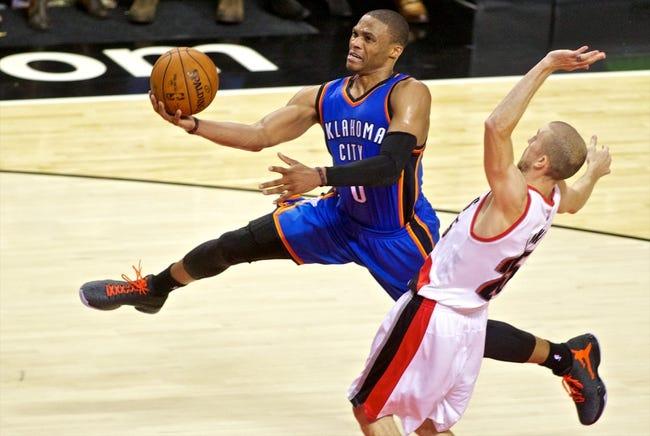 Oklahoma City Thunder vs. Portland Trail Blazers - 12/23/14 NBA Pick, Odds, and Prediction