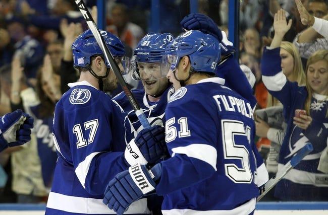 New York Rangers vs. Tampa Bay Lightning - 11/17/14 NHL Pick, Odds, and Prediction