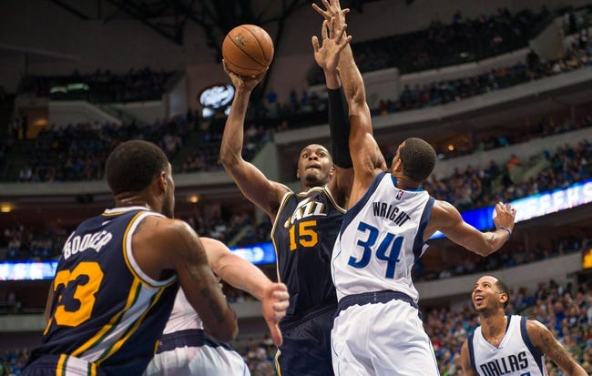 Utah Jazz vs. Dallas Mavericks - 11/7/14 NBA Pick, Odds, and Prediction