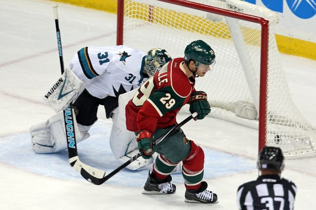 Minnesota Wild  at San Jose Sharks- 12/11/14 NHL Pick, Odds, and Prediction