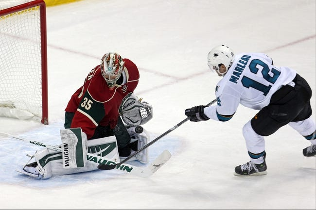 NHL | Minnesota Wild (15-10-1) at San Jose Sharks (15-11-4)