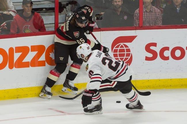 Ottawa Senators vs. Chicago Blackhawks - 12/3/15 NHL Pick, Odds, and Prediction