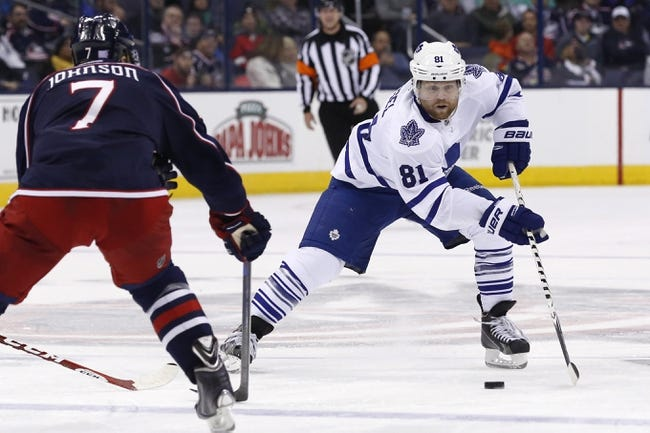 Toronto Maple Leafs vs. Columbus Blue Jackets - 1/9/15 NHL Pick, Odds, and Prediction