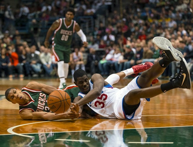 Philadelphia 76ers vs. Milwaukee Bucks - 1/7/15 NBA Pick, Odds, and Prediction