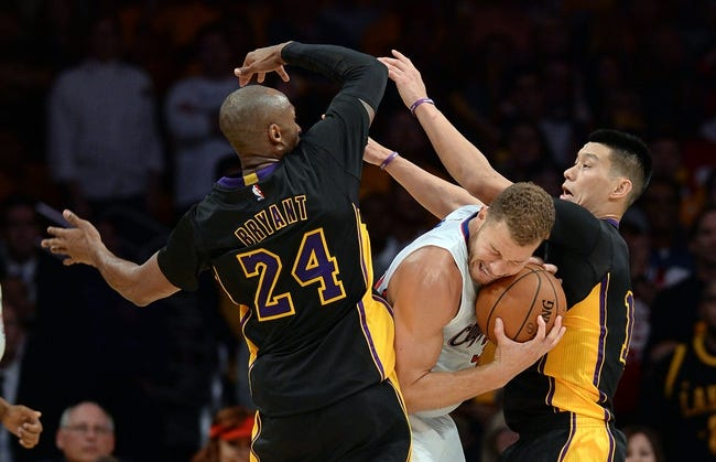 Los Angeles Clippers vs. Los Angeles Lakers - 1/7/15 NBA Pick, Odds, and Prediction