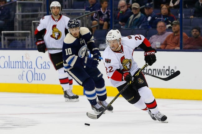 Senators vs. Blue Jackets - 2/7/15 NHL Pick, Odds, and Prediction
