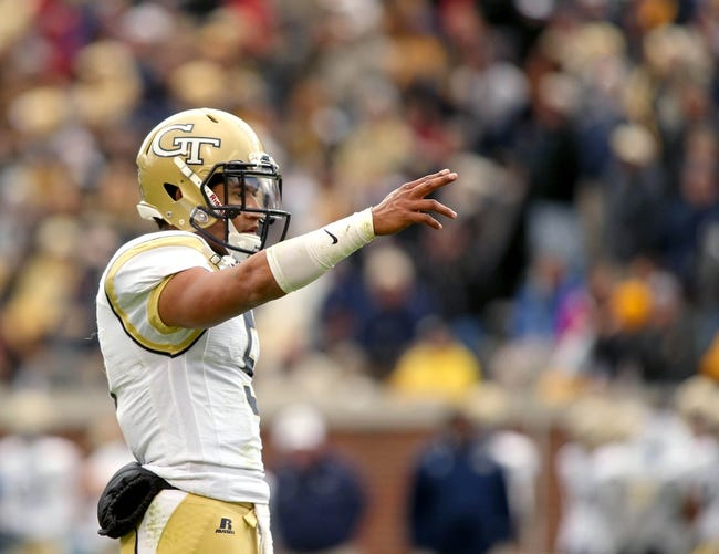 North Carolina State Wolfpack vs. Georgia Tech Yellow Jackets - 11/8/14 College Football Pick, Odds, and Prediction