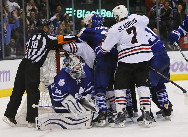 Chicago Blackhawks vs. Toronto Maple Leafs - 12/21/14 NHL Pick, Odds, and Prediction